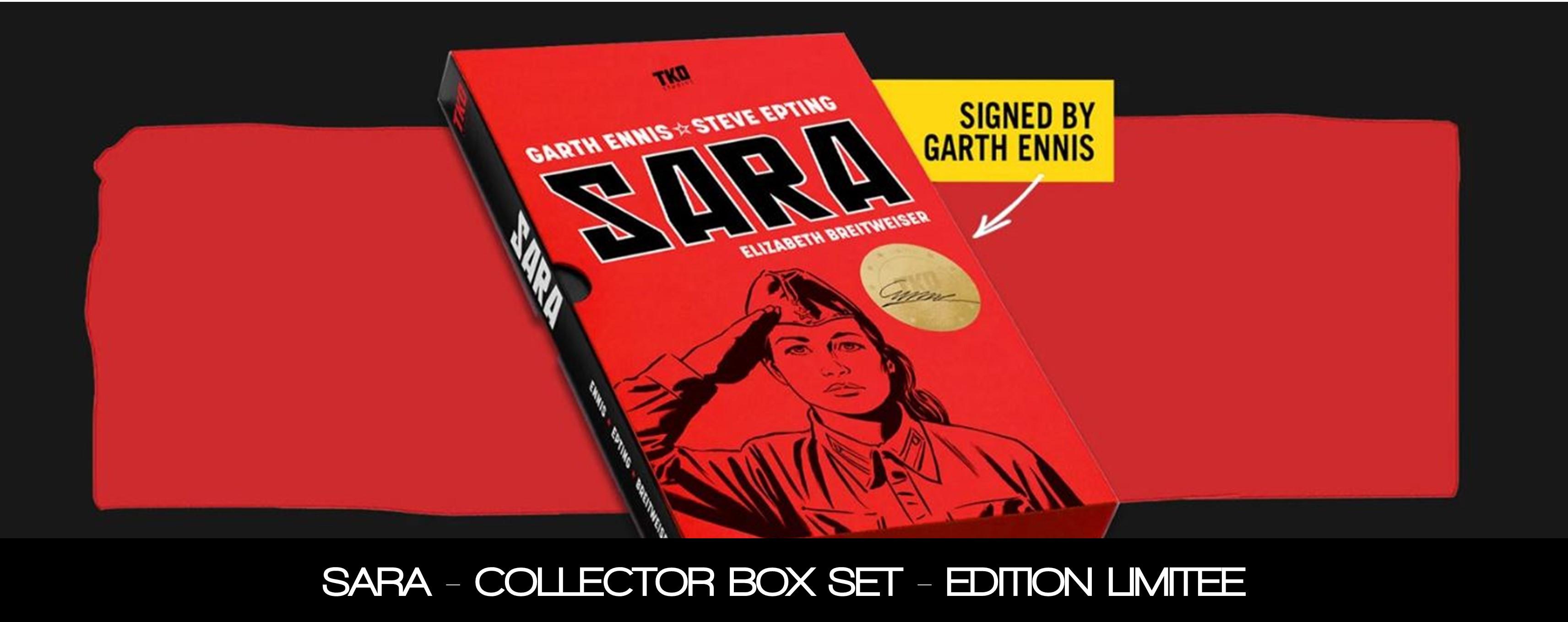 SARA COLLECTOR BOX SET - SIGNE PAR GARTH ENNIS